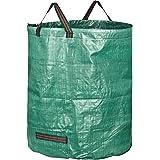 GardenMate 1x 272l Borsa da giardino Sacchi per i rifiuti in robusto tessuto in polipropilene (PP) 150gsm