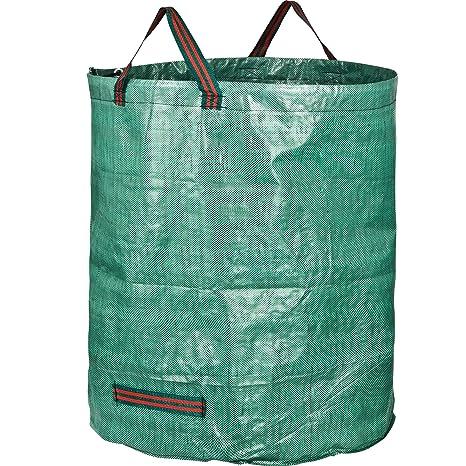 GardenMate 1x Bolsa de Basura de jardín 272L - Altura 76 cm Ø 67 cm - Polipropileno (PP)