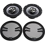 Sub-Zero Ice 6.5-inch Coaxial 220W Speakers