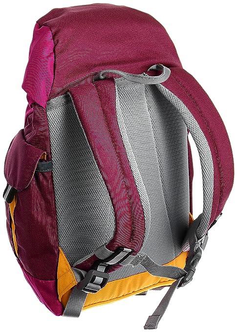 Deuter Kikki Mochila, Unisex niños, Rojo (Magenta-Blackberry), 24x36x45 cm (W x H x L): Amazon.es: Deportes y aire libre