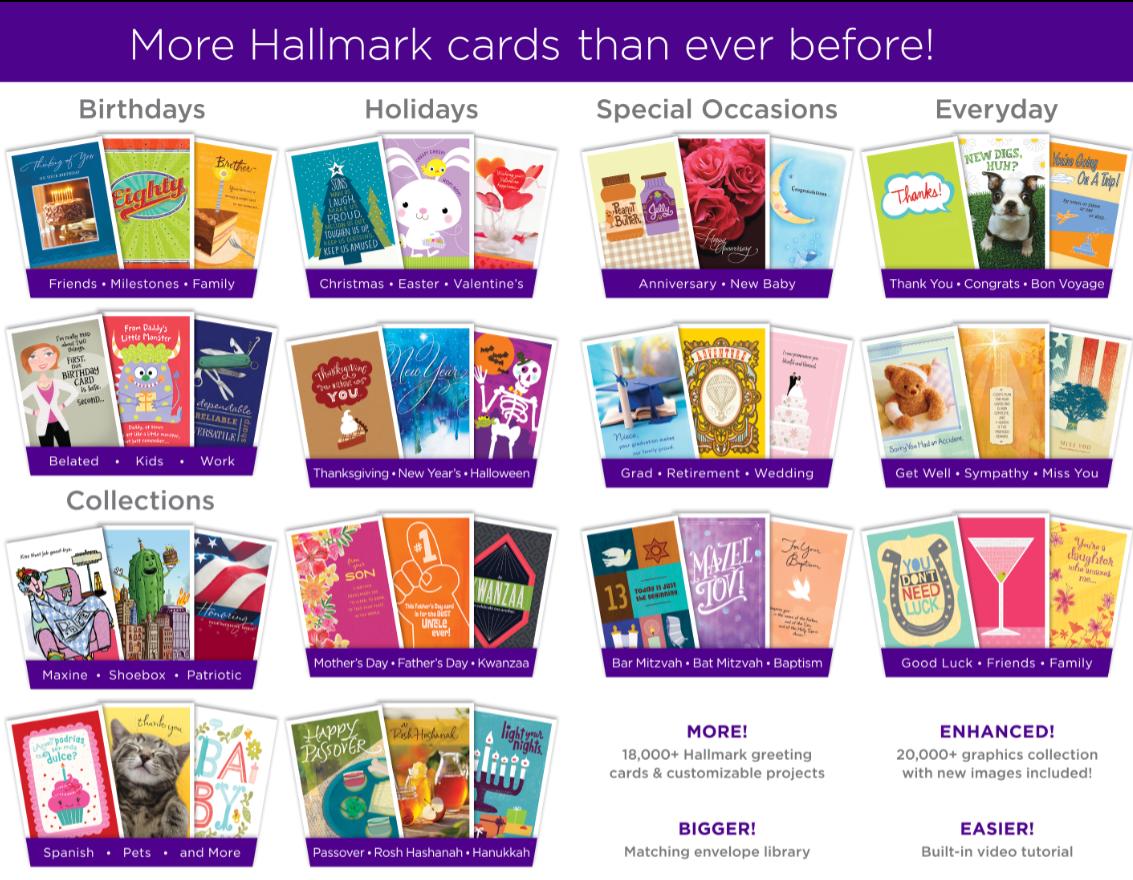 Amazon hallmark card studio deluxe 2018 download software kristyandbryce Images