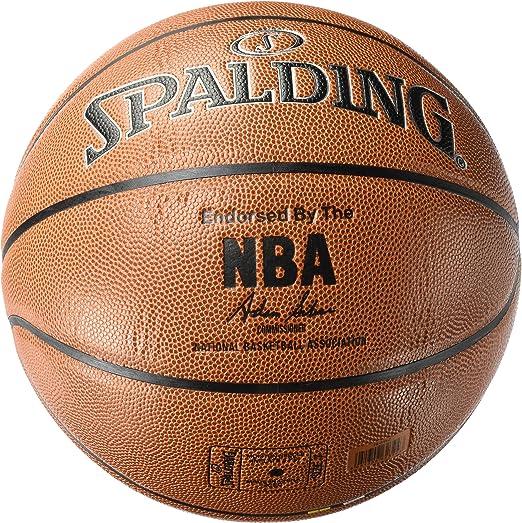 Spalding NBA Silver In/out 76-018Z Balón de Baloncesto, Unisex ...