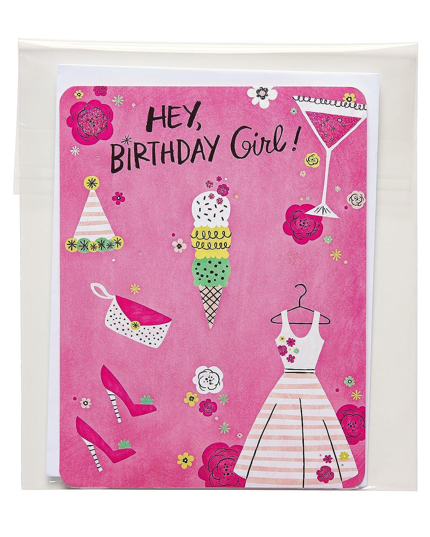 Amazon American Greetings Fun Birthday Card For Girl With