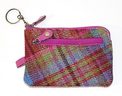 Amazon.com: Authentic Islay Tweed cartera Pequeño con Caso ...