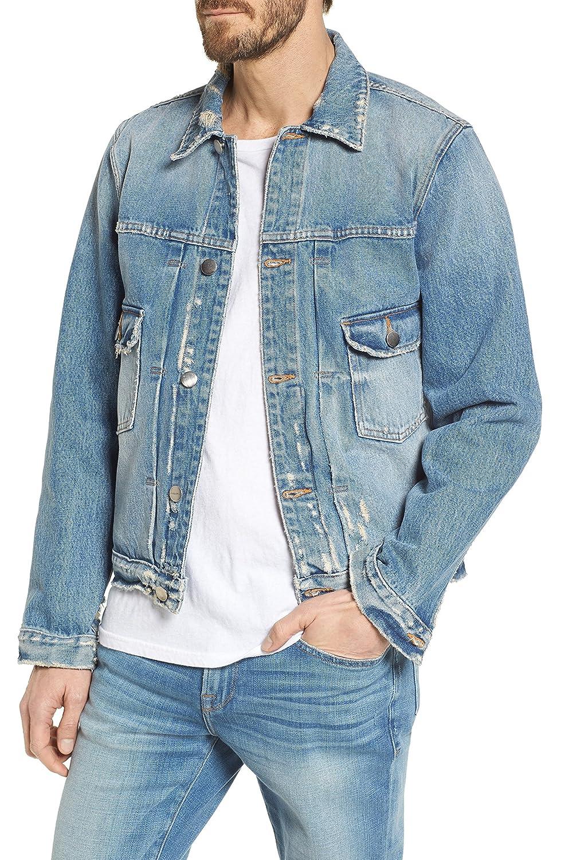 [フレーム] メンズ ジャケットブルゾン FRAME L'Homme Denim Jacket [並行輸入品] B079TM3SSR Large