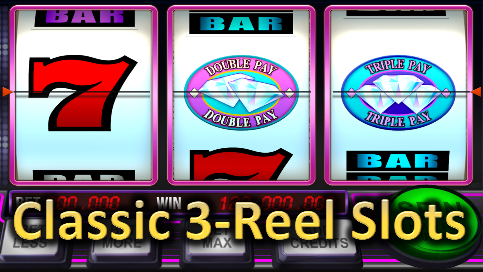 Free 3 Reel Slots For Fun