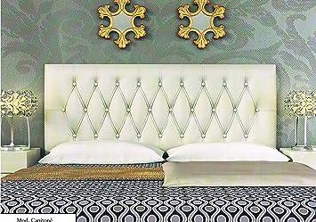 colchones y muebles baratos Cabecero tapizado Capitone (90cm): Amazon.es: Hogar