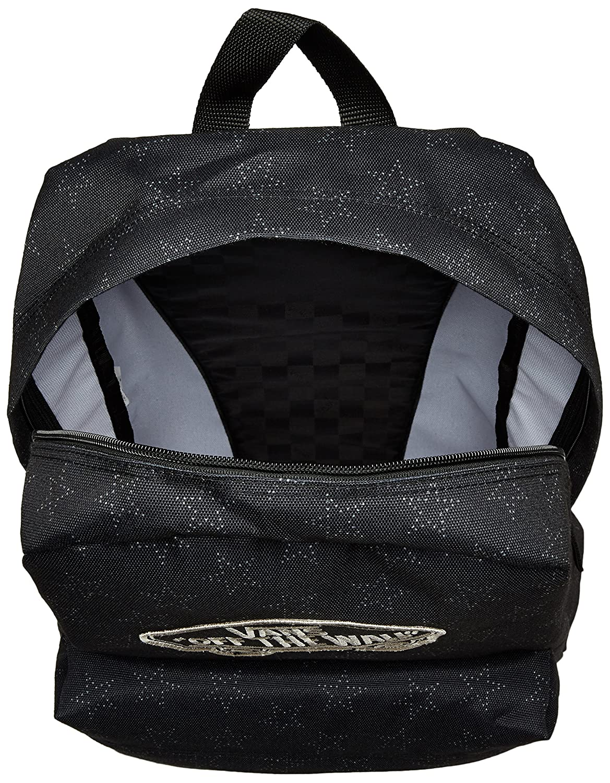 bff68e3fac7d73 VANS Realm Backpack Star dot Black School Bag V00NZ0KJV  Amazon.co.uk   Luggage