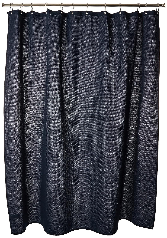 InterDesign York Shower Curtain 54x78 Inch White Inc 20410