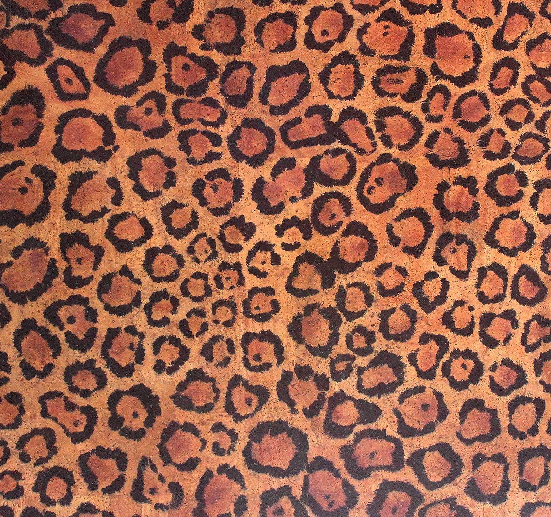 Versacork Teppich Leopard 1.40 x 1 m Stärke 0,8mm) veganer Teppich aus Kork   Nanooberfläche   schmutz- und wasserabweisend   einzigartige Haptik   fußwarm   antiallergisch   flammhemmend