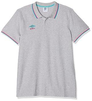 Umbro Polo de piqué con Punta de Polo para Hombre Camisetas, Hombre, Tipped Pique