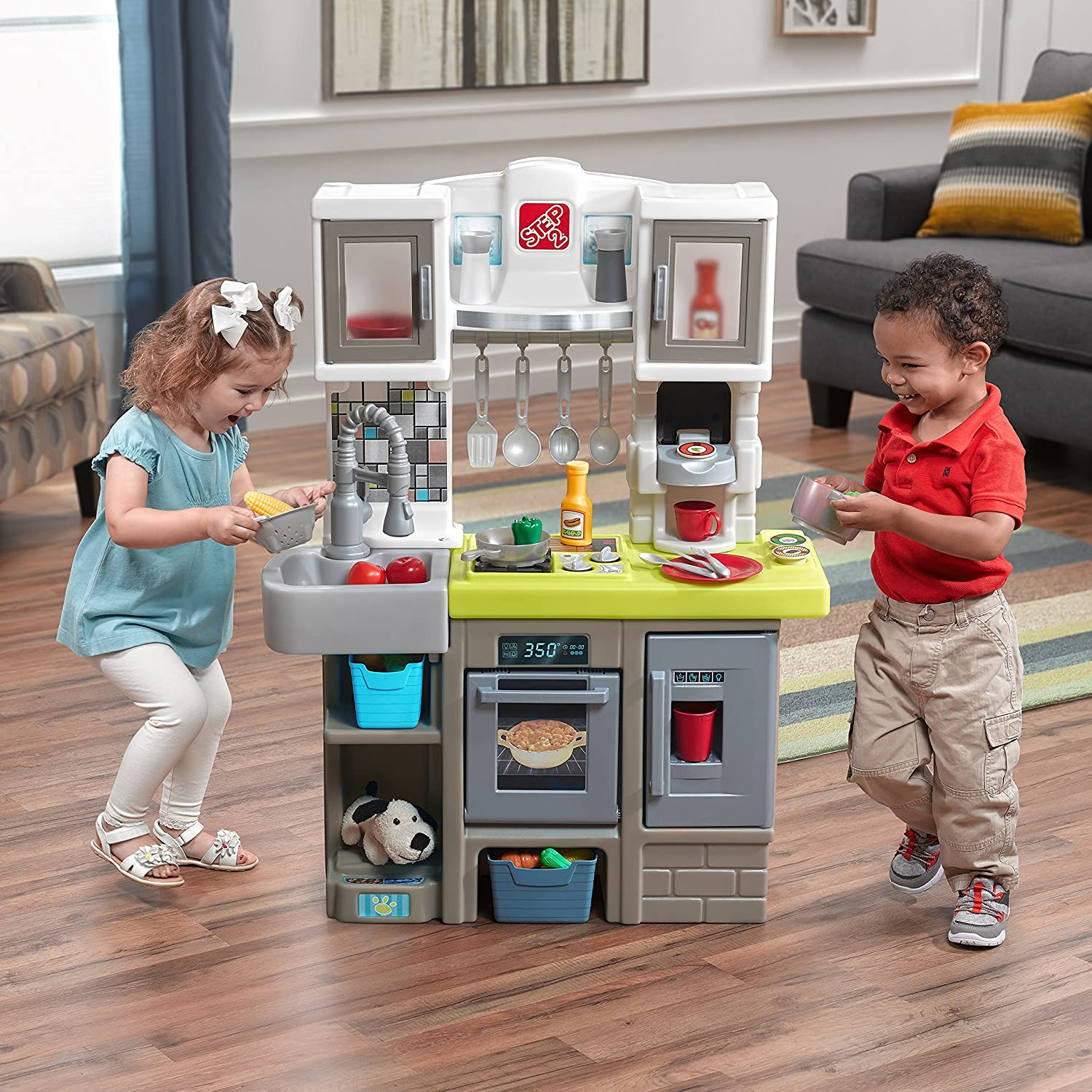Amazon Step2 Contemporary Chef Kitchen Playset Toys Games