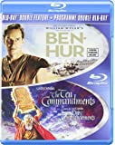 Ben-Hur (1959) / The Ten Commandments (1956) [Blu-ray]