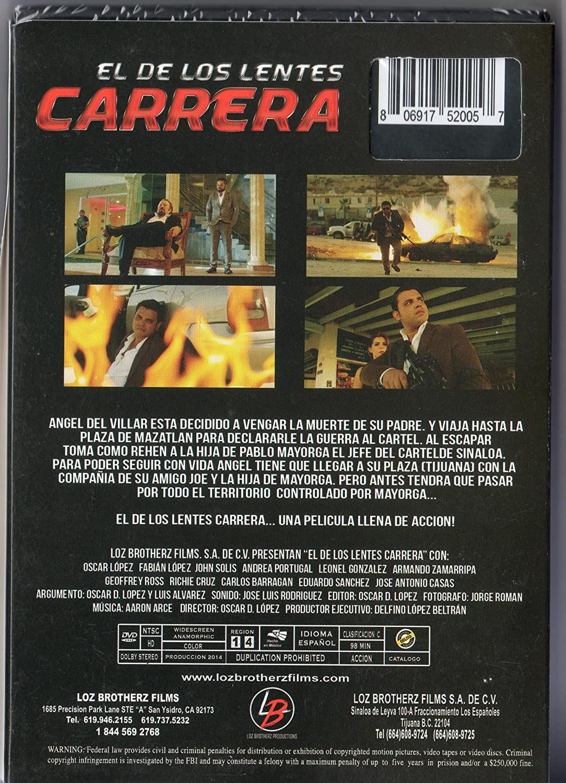 85cbd99b2f Amazon.com: EL DE LOS LENTES DE CARRERA [OSCAR LOPEZ,FABIAN LOPEZ,JOHN  SOLIS]: Movies & TV