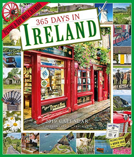 365 days in ireland picture a day wall calendar 2019