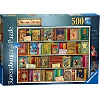 Ravensburger Vintage Library 500pc Jigsaw Puzzle