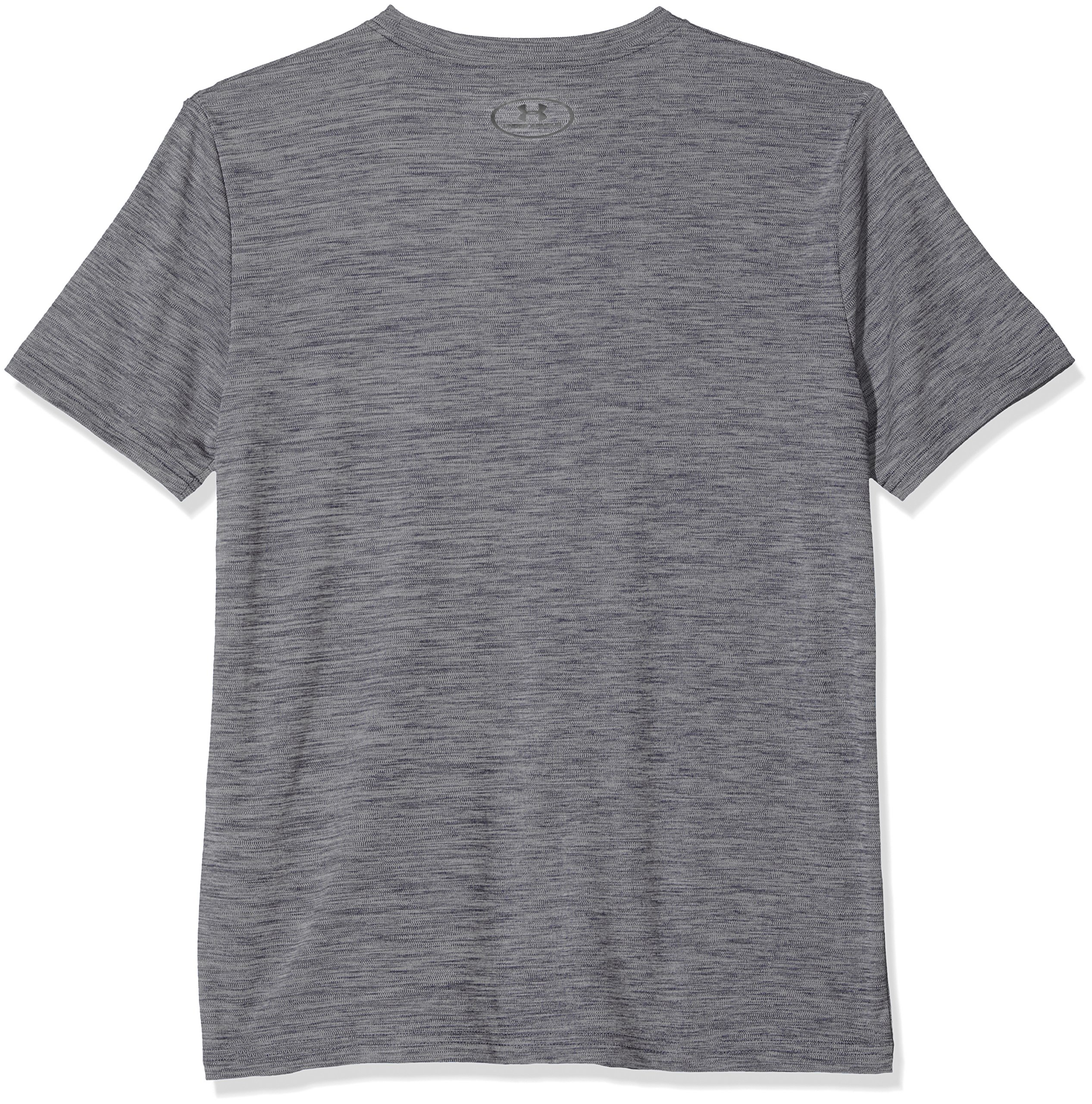 Under Armour Kids Boy's Crossfade Tee (Big Kids) Graphite/Royal/Red X-Small by Under Armour (Image #2)