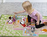 Kids Carpet Playmat Rug Play Time! Fun House