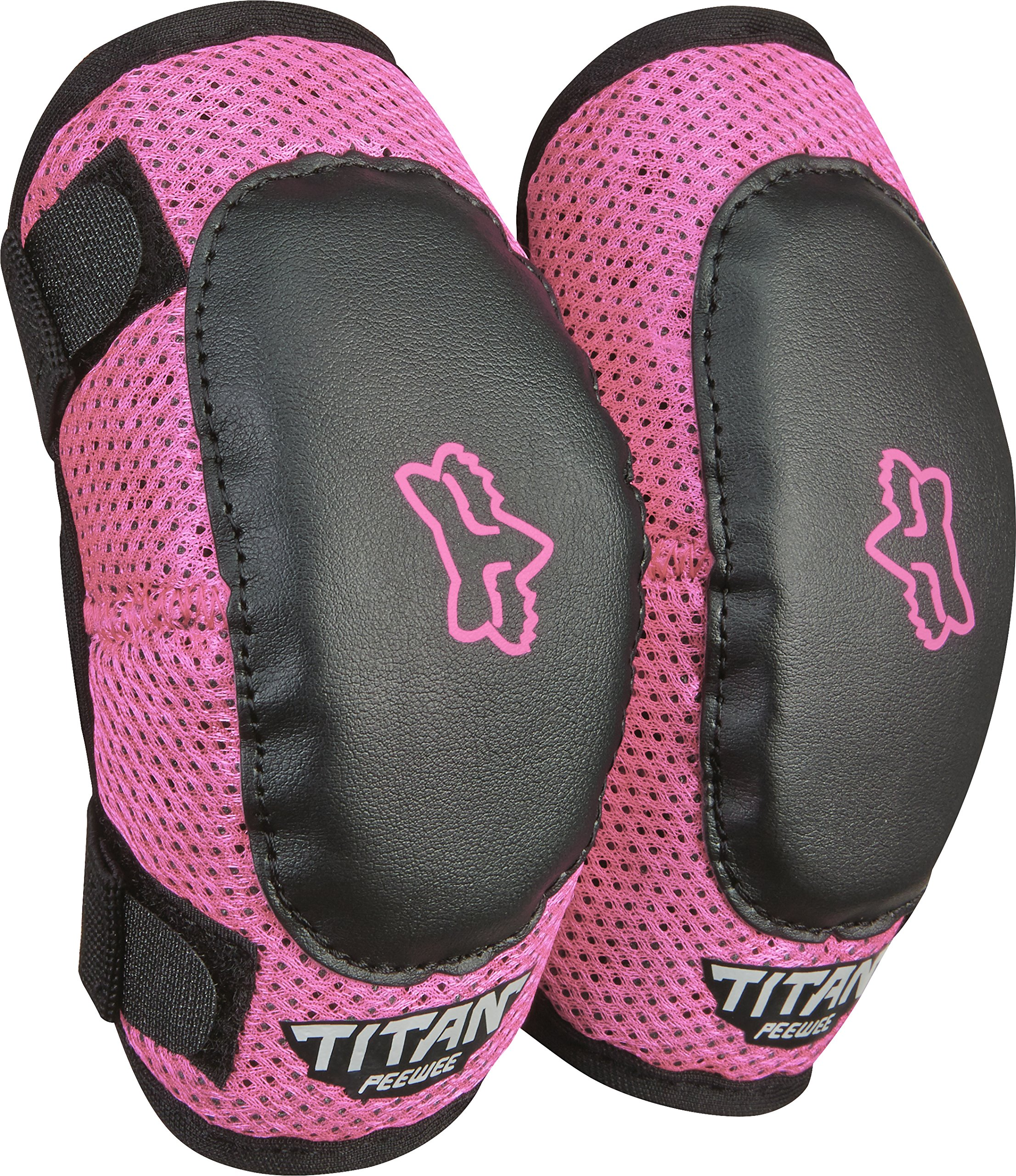 Fox Racing PeeWee Titan Elbow Guard M/L Blk/Pnk
