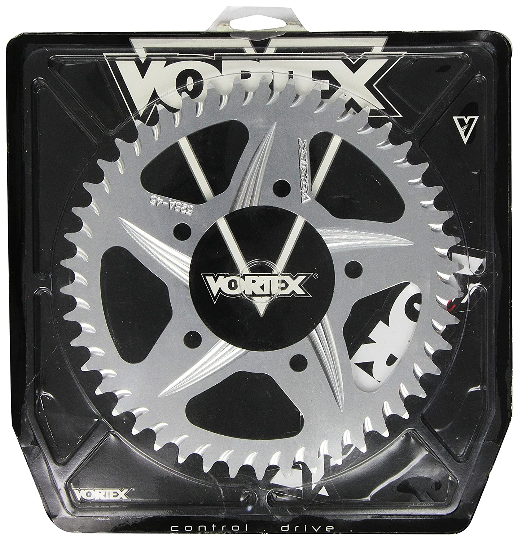 Vortex 528A-46 Silver 46-Tooth 520-Pitch Rear Sprocket