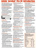 Adobe Acrobat Pro DC Introduction Quick Reference Guide (Cheat Sheet of Instructions, Tips & Shortcuts - Laminated Card)