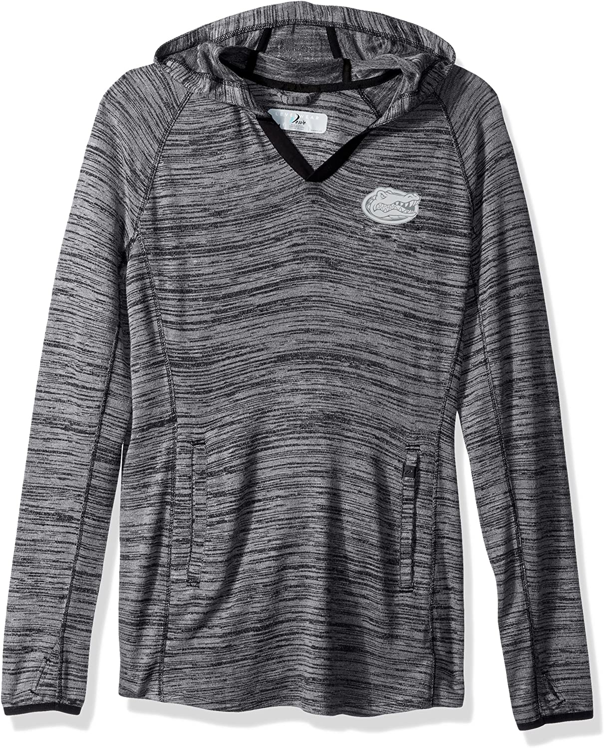 Levelwear LEY9R NCAA Womens Recovery Line EM Up Pullover Hoodie