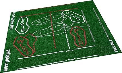 Amazon Com Pelz Golf Dp4002 Position Mat Sports Outdoors