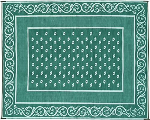 Faulkner Vineyard 8 by 20-Feet Green Multi-Purpose Mat