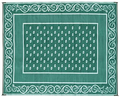 Faulkner Vineyard 6 by 9-Feet Green Multi-Purpose Mat