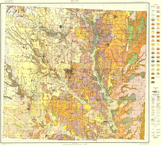 Amazon Com Maps Of The Past Denton Texas Soil Usda 1918 23 X