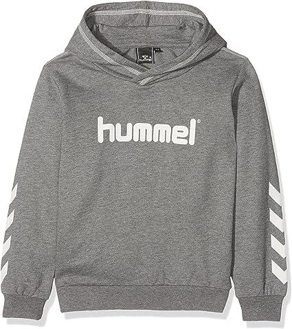 hummel Sweatshirt à Capuche pour Enfants S Gris: