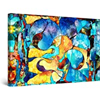 Startonight Canvas Wall Art Abstract - Abstract FACE Angelique Painting - Large Artwork Print for Living Room 32 x 48…