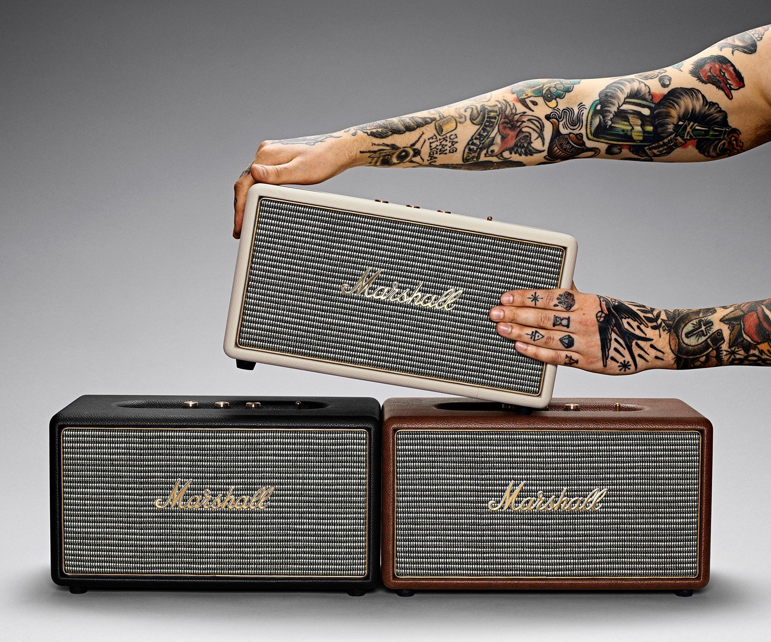Marshall Stanmore Bluetooth Speaker, Black (04091627) by Marshall (Image #8)