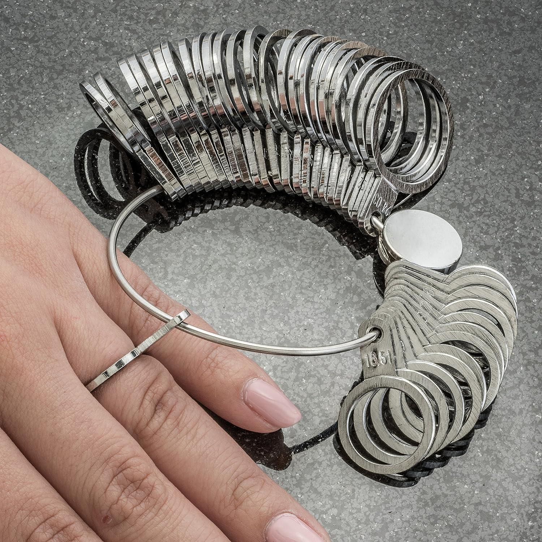 SE Metal Ring Sizer 36 PC. JT130RS