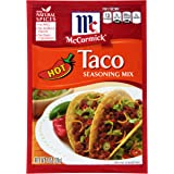 McCormick Hot Taco Seasoning Mix, 1 oz