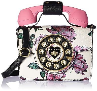fffe2ed3ddc7 Betsey Johnson Mini Purple Flower Print Phone Bag