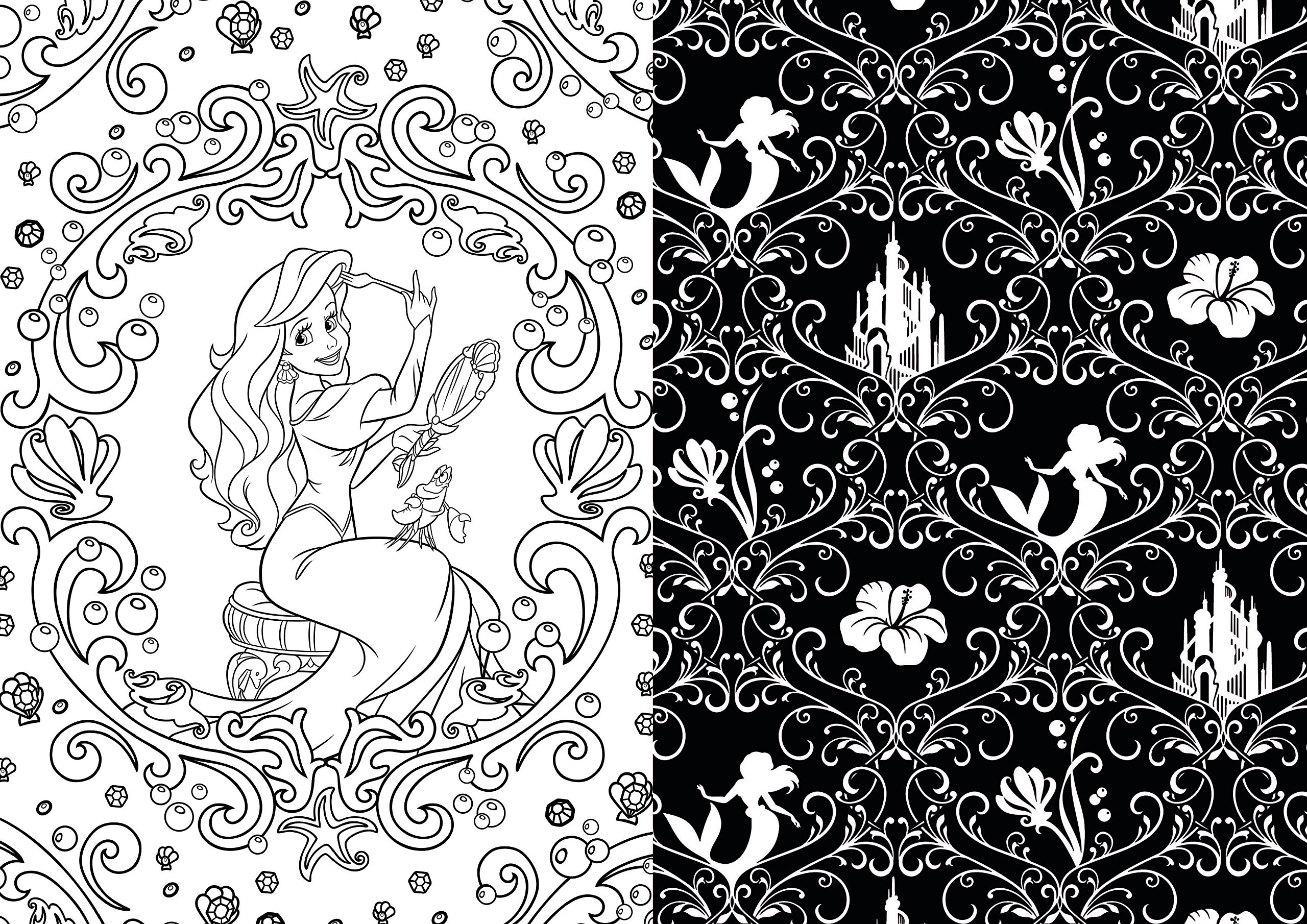 Disney coloring pages adults - Art Of Coloring Disney Princess 100 Images To Inspire Creativity And Relaxation Art Therapy Catherine Saunier Talec Anne Le Meur 0725961057404