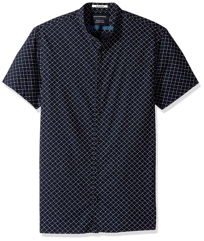 Scotch & Soda Men's Classic Shortsleeve Oxford Shirt 142759
