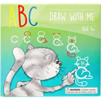 ABC Draw With Me | Wipe Clean Alphabet Flash Cards | Great Birthday Gift Present For Girls Boys Age 3 4 5 6 7 Years Old…