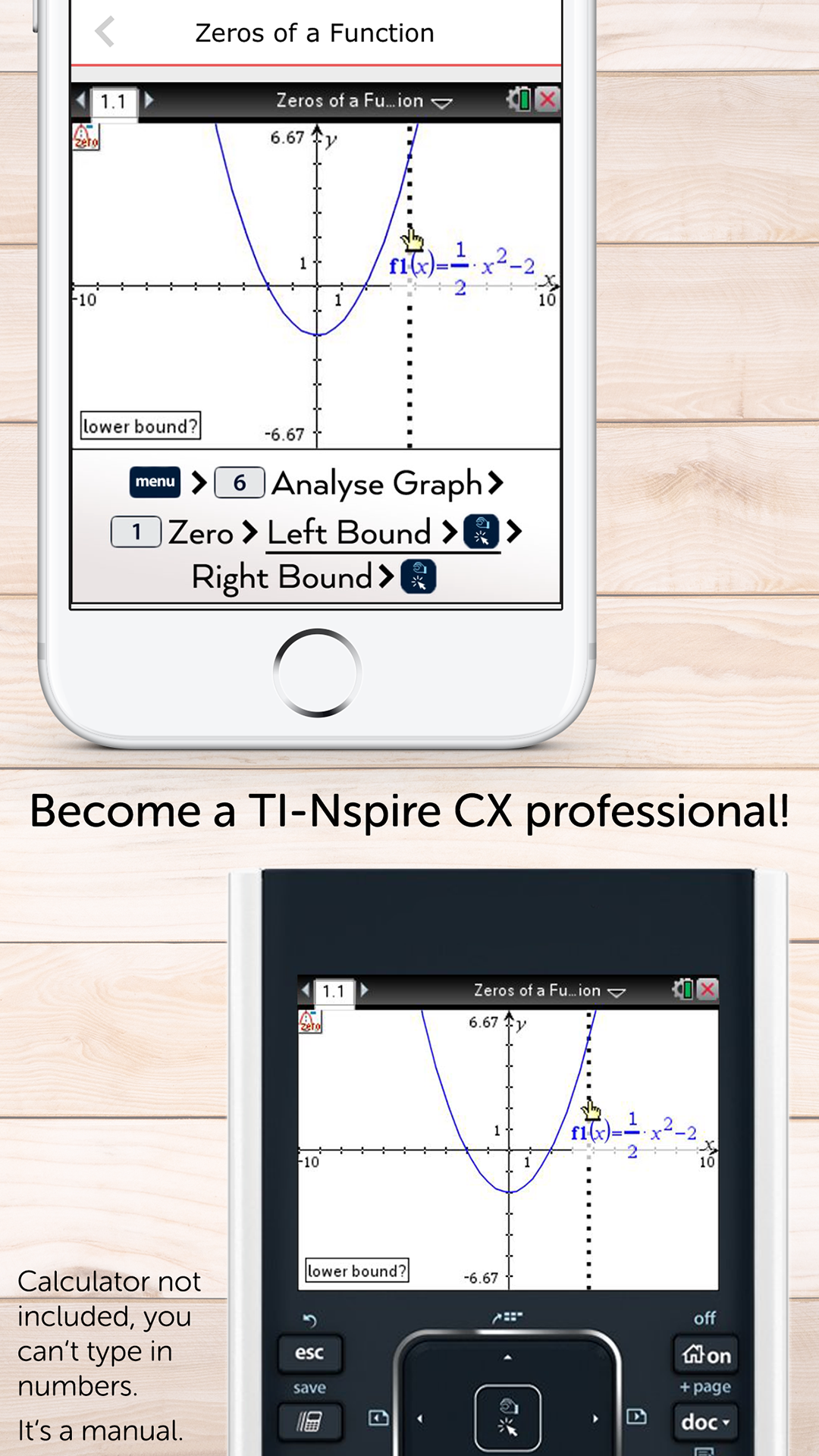 Amazon.com: Graphing Calculator Manual TI-Nspire CX: Appstore for Android