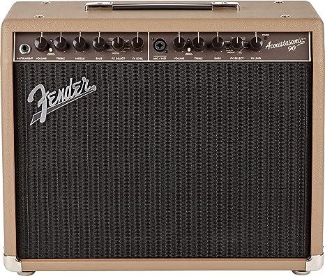 Fender Acoustasonic 90 · Amplificador guitarra acústica: Amazon.es ...