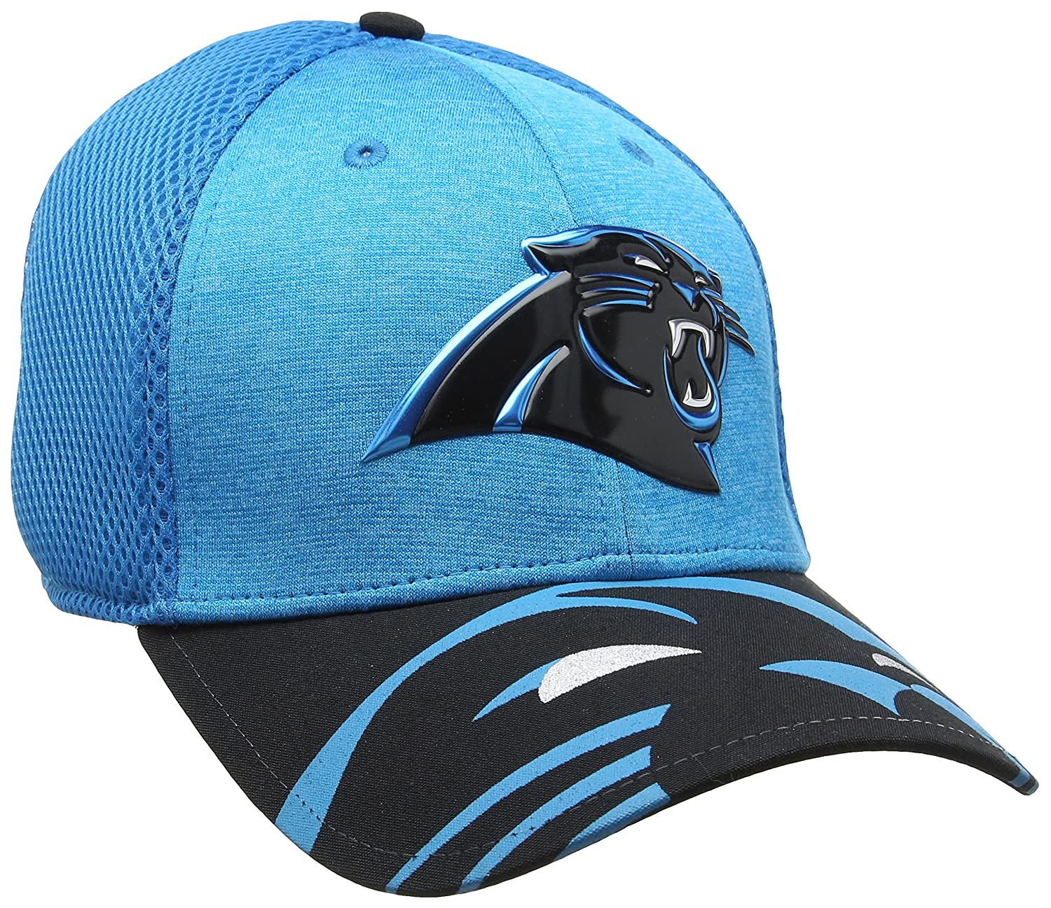 detailed look 1cf25 41370 ... best new era mens nfl 17 official on stage 39thirty carolina panthers  baseball cap amazon sports