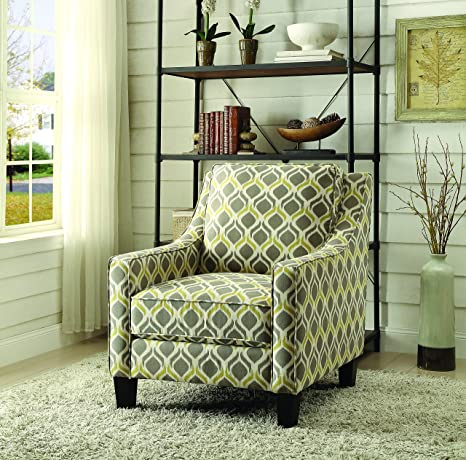 Marvelous Amazon Com Coaster Traditional Grey Yellow Upholstered Machost Co Dining Chair Design Ideas Machostcouk