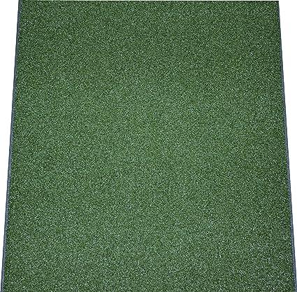 Dean Premium Heavy Duty Indoor/Outdoor Oasis Green Artificial Grass ...