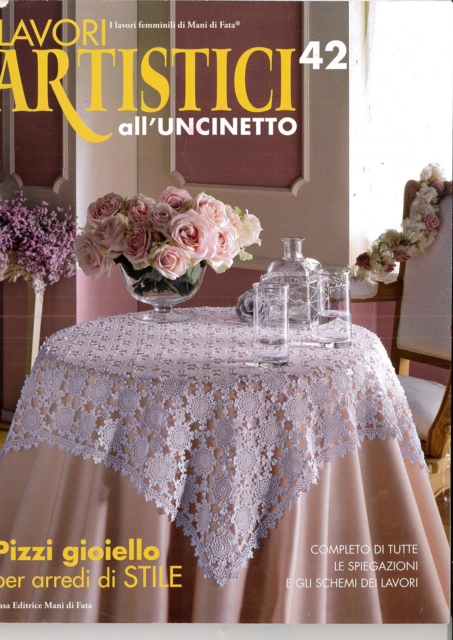 Amazonit Lavori Artistici Alluncinetto 42 Casa Editrice Mani Di