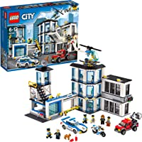 LEGO City - Le commissariat de police - 60141 - Jeu de Construction