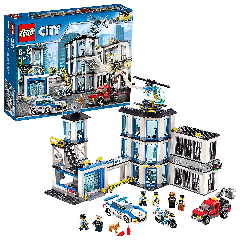 LEGO City 60141 - Giochi Set Costruzioni Stazione di Polizia Lego Italy