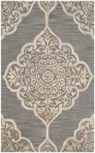 Safavieh Dip Dye Collection Area Rug, 3 x 5 , Slate Beige