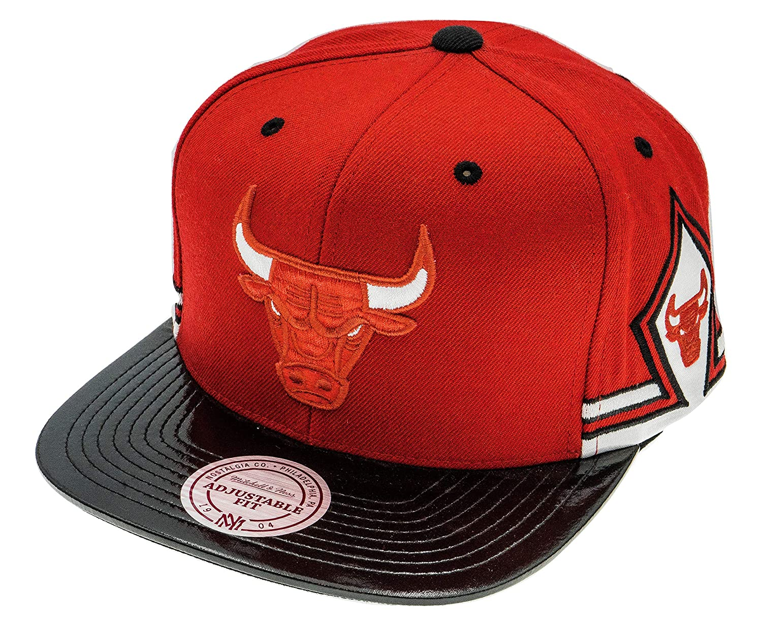 Mitchell & Ness Chicago Bulls NBA Snapback Gorra: Amazon.es ...