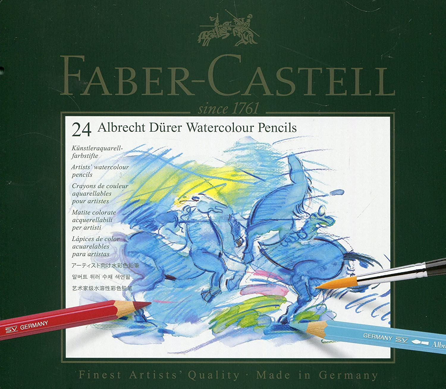 Amazon.com : Faber-Castel FC117524 Albrecht Durer Artist Watercolor ...